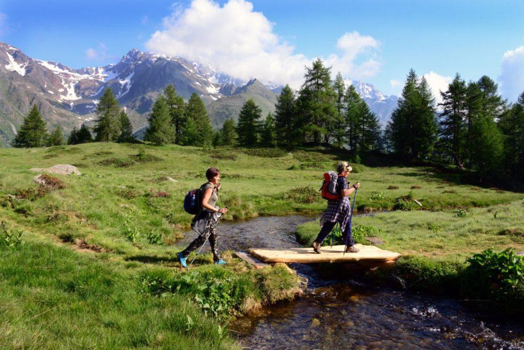 trekking e passeggiate in val di sole - trentino