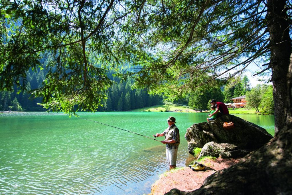 trentino fishing in val di sole